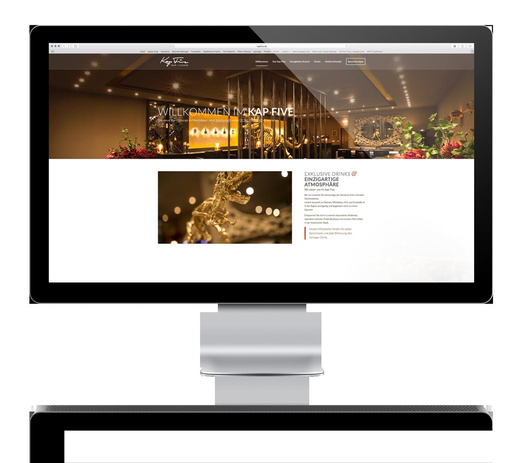 Spack! Medien - Webseite - Webdesign